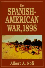 Cover of: The Spanish-American War, 1898