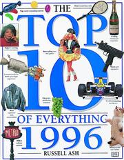 Cover of: The Top Ten of Everything 1996