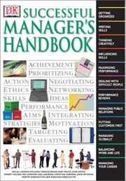 Cover of: Successful manager's handbook