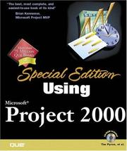Cover of: Using Microsoft Project 2000 (Special Edition)