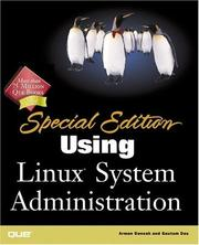 Cover of: Using Linux Administration (Special Edition)