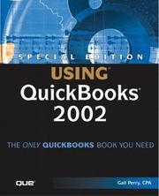 Cover of: Special Edition Using QuickBooks 2002
