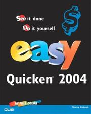 Cover of: Easy Quicken