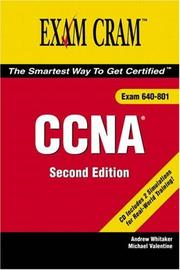Cover of: CCNA Exam Cram 2 (2nd Edition) (Exam Cram 2)