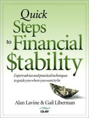 Cover of: Quick Steps to Financial Stability