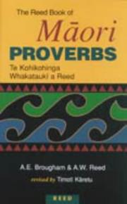 Cover of: The Reed Book of Maori Proverbs