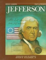 Cover of: Thomas Jefferson (World Leaders Past and Present)