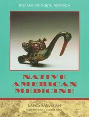 Cover of: Native American Medicine (Indians of North America (Chelsea House Publishers).)