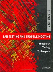 Cover of: LAN testing and troubleshooting