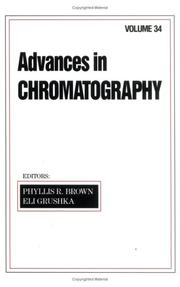 Cover of: Advances in Chromatography, Volume 34