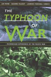 Cover of: The Typhoon of War