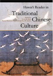 Cover of: Hawai'i reader in traditional Chinese culture