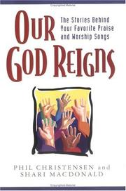 Cover of: Our God Reigns (Book & CD)