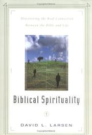 Cover of: Biblical spirituality