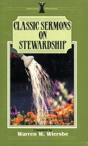 Cover Of Classic Sermons On Stewardship