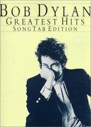 Cover of: Bob Dylan - Greatest Hits (Bob Dylan)