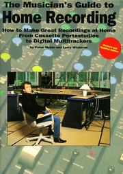 Cover of: The Musician's Guide To Home Recording