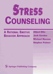 Cover of: Stress Counseling