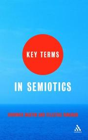 Cover of: Key Terms in Semiotics
