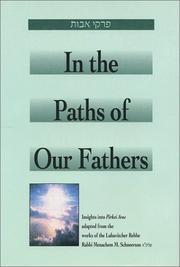 Cover of: In the Paths of Our Fathers
