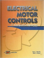 Cover of: Electrical Motor Controls for Integrated Systems