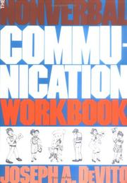 Cover of: The Nonverbal Communication Workbook