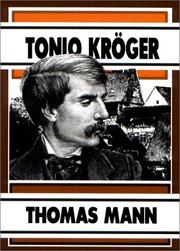 Cover of: Tonio Kroger: novelle