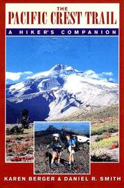 Cover of: The Pacific Crest Trail