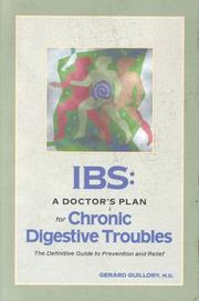Cover of: Ibs: A Doctor's Plan for Chronic Digestive Troubles