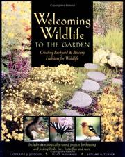 Cover of: Welcoming Wildlife to the Garden