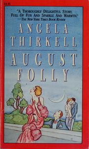 Cover of: August Folly
