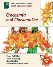 Cover of: Crocosmia and Chasmanthe (Royal Horticultural Society Plant Collector Guide)