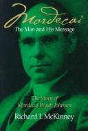 Cover of: Mordecai, the Man and His Message
