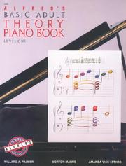 Cover of: Alfred's Basic Adult Theory Piano Book