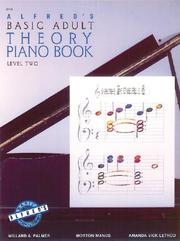 Cover of: Alfred's Basic Adult Theory Piano Book Level Two