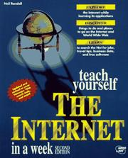 Cover of: Teach yourself the Internet in a week