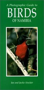 Cover of: A Photographic Guide to the Birds of Namibia
