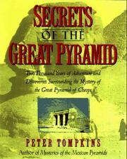 Cover of: Secrets of the Great Pyramid