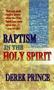 Cover of: Baptism in the Holy Spirit