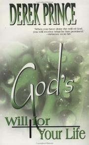Cover of: God's Will for Your Life