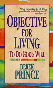 Cover of: Objective for Living: To Do God's Will