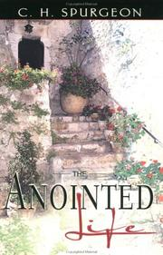 Cover of: The Anointed Life