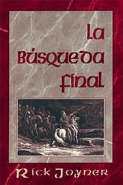 Cover of: La búsqueda final