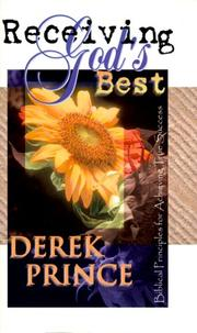 Cover of: Receiving God's Best
