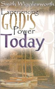Cover of: Experiencing God's Power Today