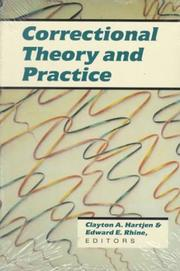 Cover of: Correctional Theory and Practice