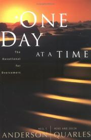 Cover of: One Day at a Time: The Devotional for Overcomers