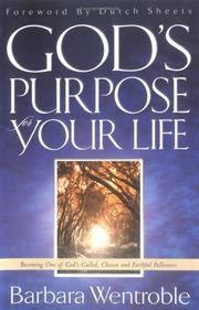 Cover of: God's Purpose for Your Life