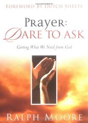 Cover of: Prayer: Dare to Ask