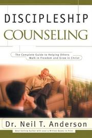 Cover of: Discipleship Counseling